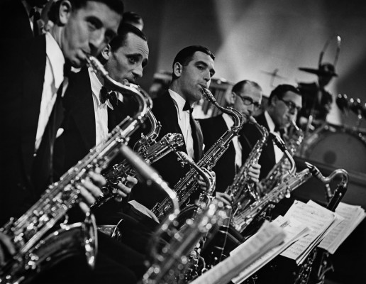 BBC Dance Orchestra saxophone section 1936