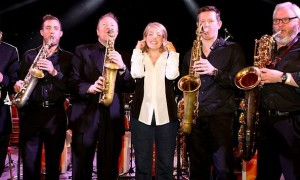Saxophones and Clare Teal – Hackney Empire May 2013